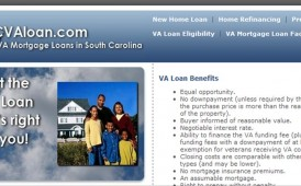 VA Mortgage Loans in South Carolina