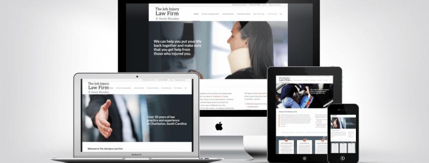Lawyer Web Design Portfolio Example