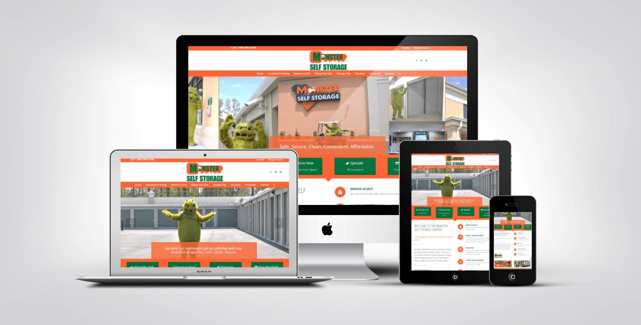Summerville Web Design Portfolio Example