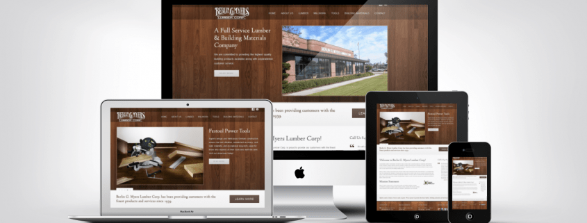 Summerville Web Design Portfolio Example