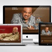 Gerald Albright Web Design Portfolio Example