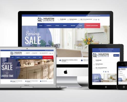 Cabinet Company Web Design