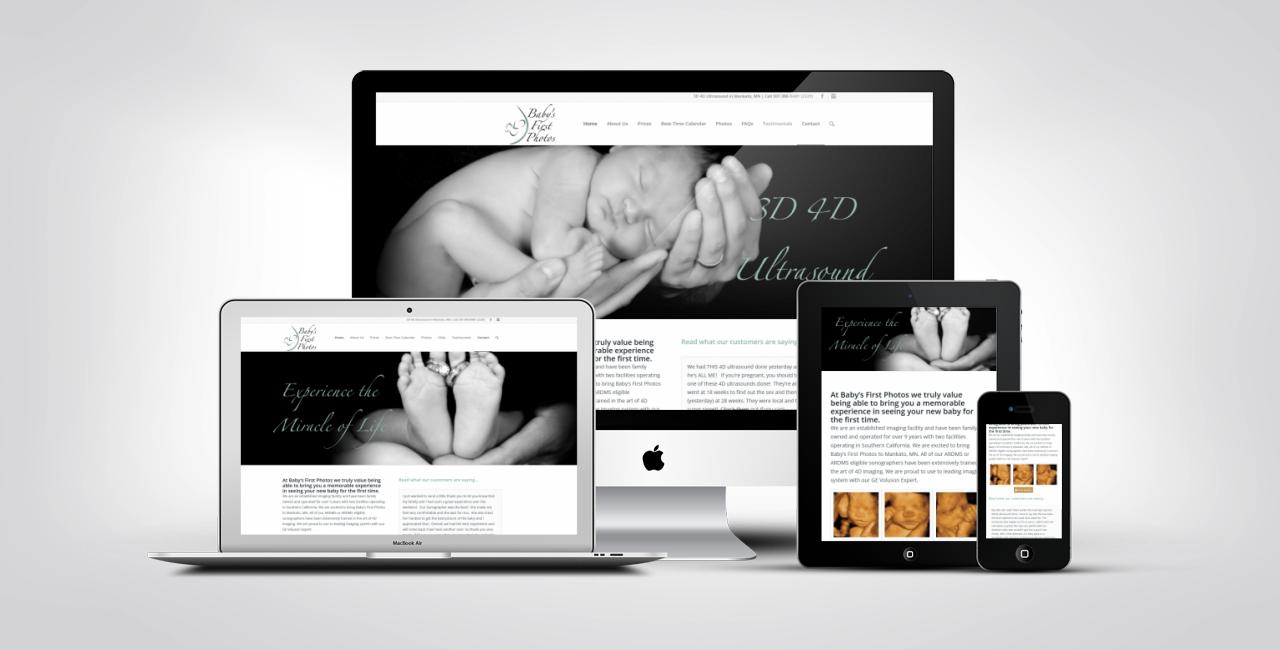 4D Ultrasound Web Design