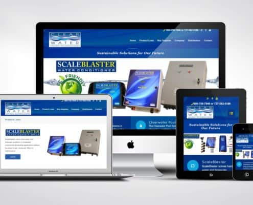 Pool Company Website