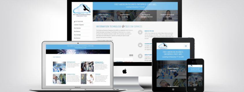 IT Company Web Design