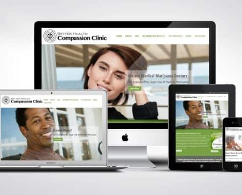 Medical Marijuana Doctor Website Design