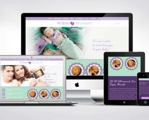 Ultrasound website design