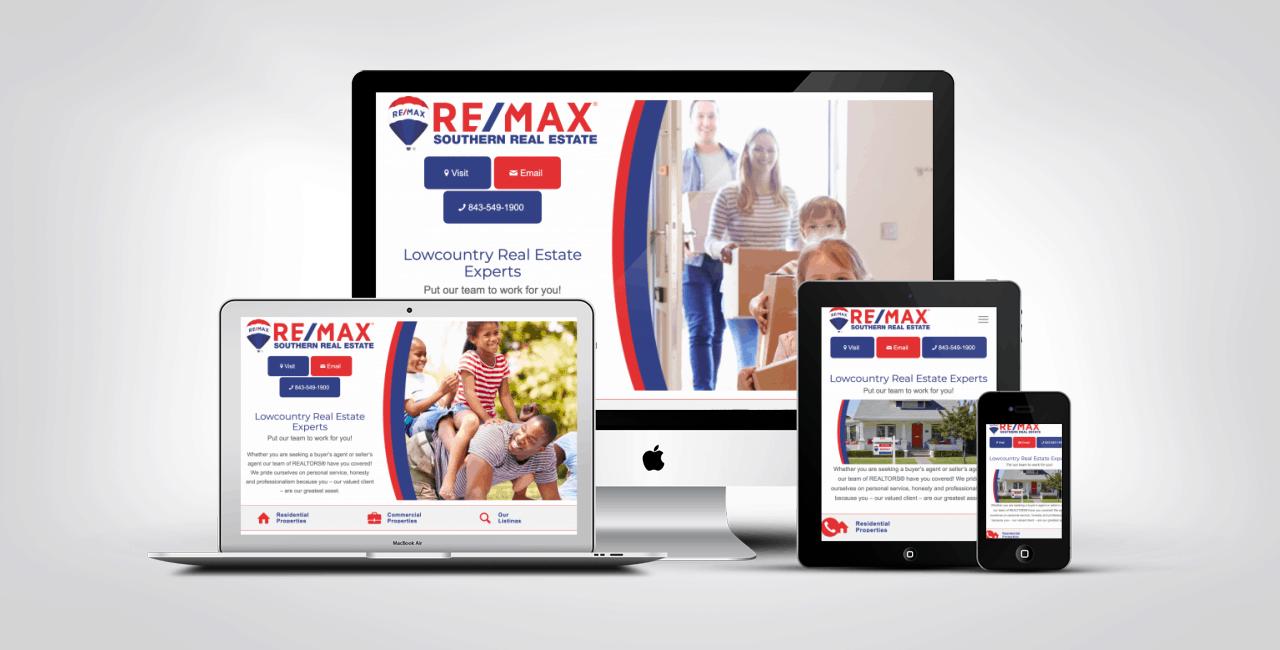 Website Design Work Portfolio 1
