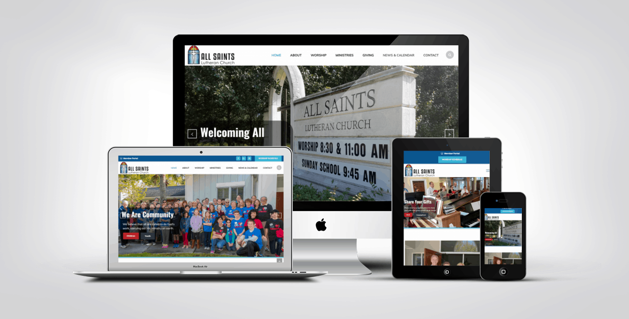 Website Design Work Portfolio 2